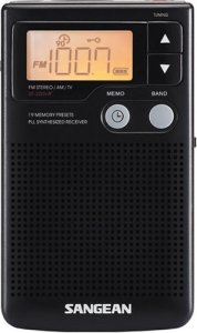 Radio de poche à réglage numérique Sangean DT-200X FM stéréo / AM