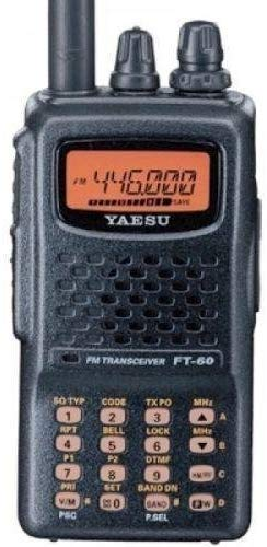 Yaesu FT-60R Review [ Dual Band Handheld Two-Way Radio]