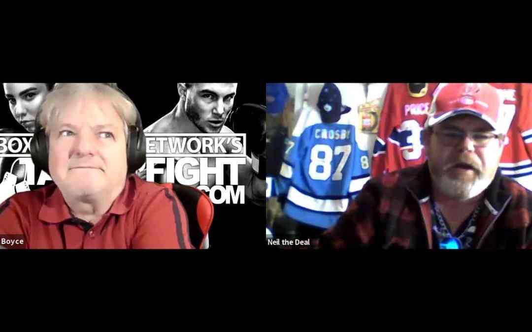 TalkinFight: Neil the Deal upcoming episode with Donovan Boucher