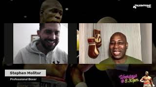 Stephen Molitor   The Scoop with Bola Ray   Talkin Fight