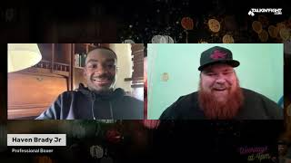 Live with Haven Brady Jr | Knuckle Up with Mike Orr | Talkin Fight