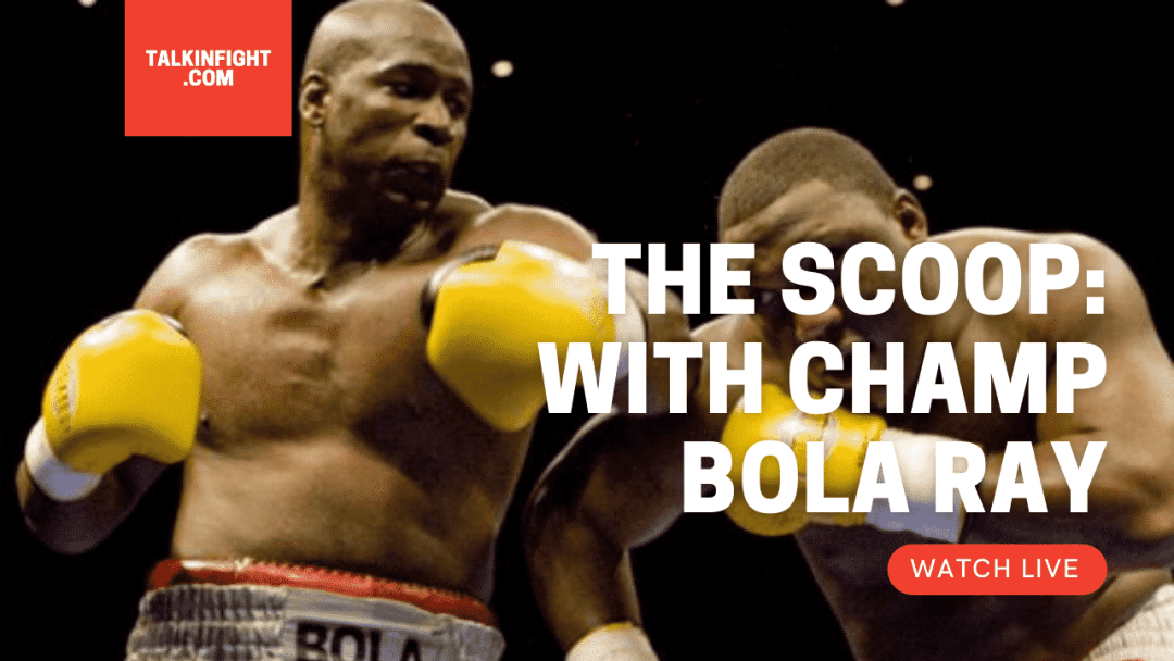 , Antonio Tarver | The Scoop with Bola Ray | Talkin Fight
