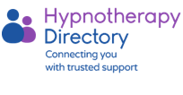 The logo of Hypnotherapy Directory which only appears on accredited therapy sites