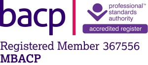 Counselling Bolton proudly displays the BACP Registered Logo for Stuart Cale