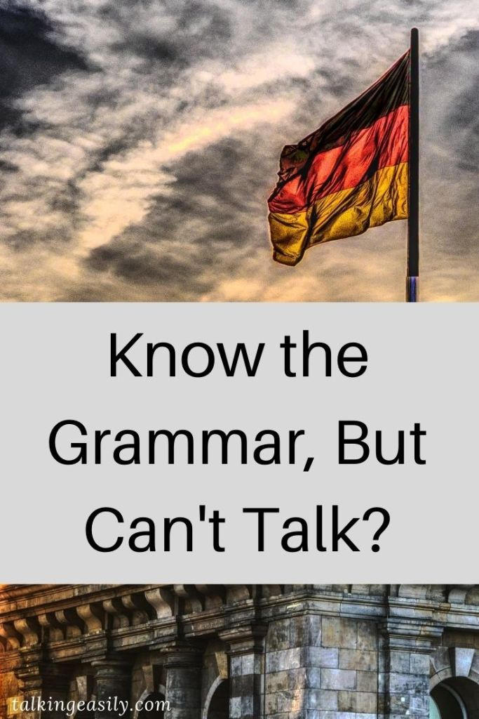 Post Pin: Know the Grammar, But Unable to Talk?
