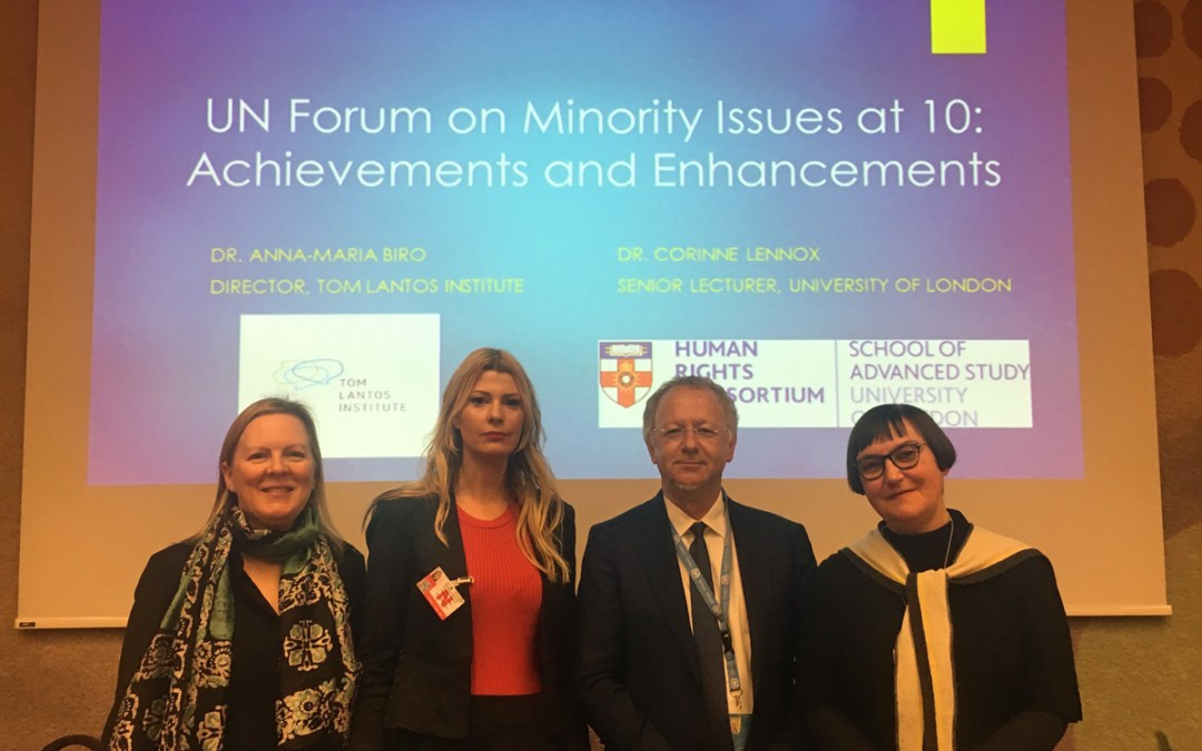Global governance on minority rights: assessing the UN Forum on Minority Issues