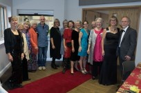 our volunteers dressed for the occasion