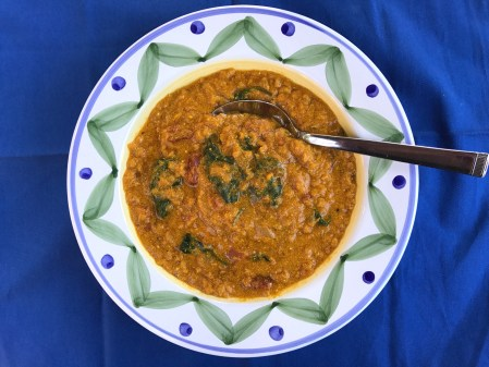 If there is a soup for Summer, this is it! Summer is for healing and this is a healing soup with Turmeric. This Golden Lentil Soup is amazingly creamy, rich, tasty, and healthy soup – a Golden soup!  Lentils are the star here; however, Turmeric plays an important role in giving this soup the amazing yellowish-orange-golden color.  Turmeric is a natural anti-inflammatory so not only does it bring flavor and color, but it also has healing benefits!