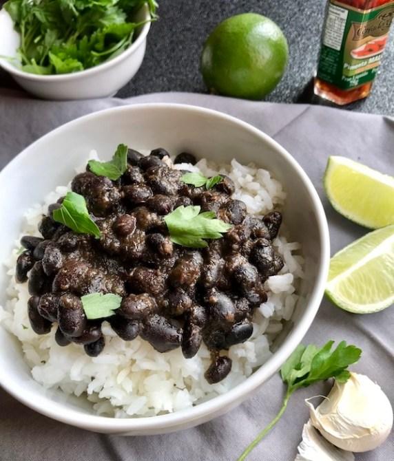 Brazillian Black Beans Closer OH vertical copy