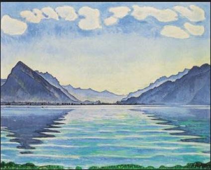 Ferdinand Hodler Lake Thun