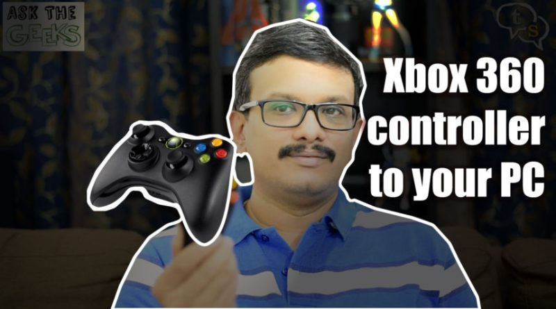 usea a xbox-360 controller on your pc