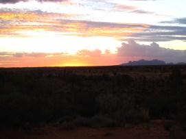 Sunset at Uluru, Australia