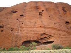 Walking around Uluru