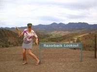 Razorback Lookout, Bunyeroo Gorge, SA