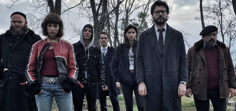 Subtitles 2 season la casa english papel de Money Heist