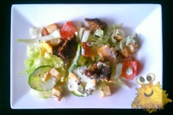 Cheeseburger Salade