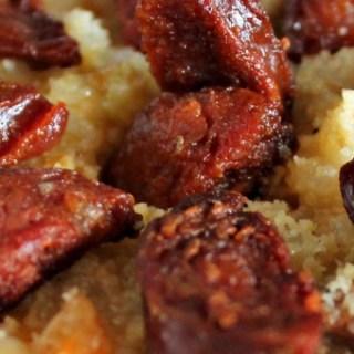 Risotto met Pittige Chorizo
