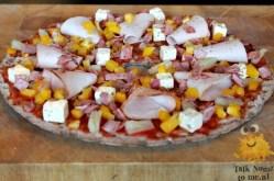 Knackebrod Pizza Hawai
