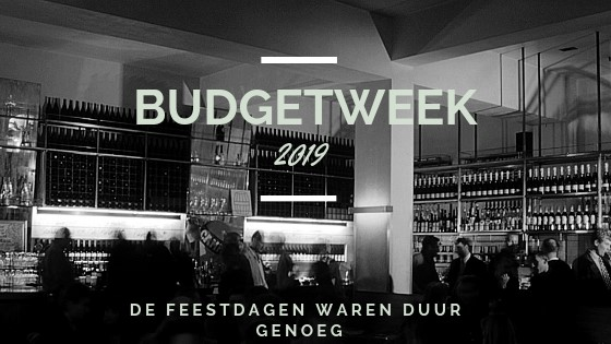 Budgetweek 2019 | TalkNomzToMe.nl