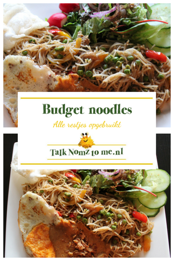 Budget noodles | TalkNomzToMe.nl
