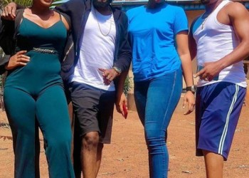 Zubby Michael shows off himself, very excited to be with his beautiful girl friend – Talk of Naija