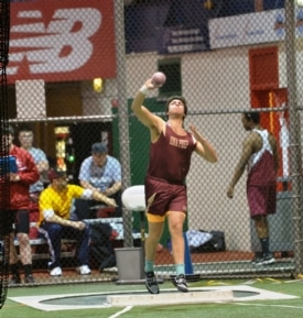 Indoor Track & Field had a great showing at the 22nd Annual EmblemHealth Hispanic Games