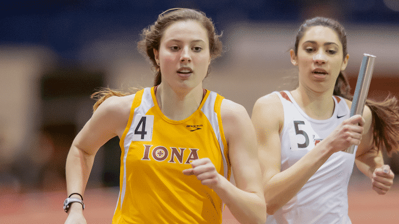 Iona Indoor Track Competes At Gotham Cup