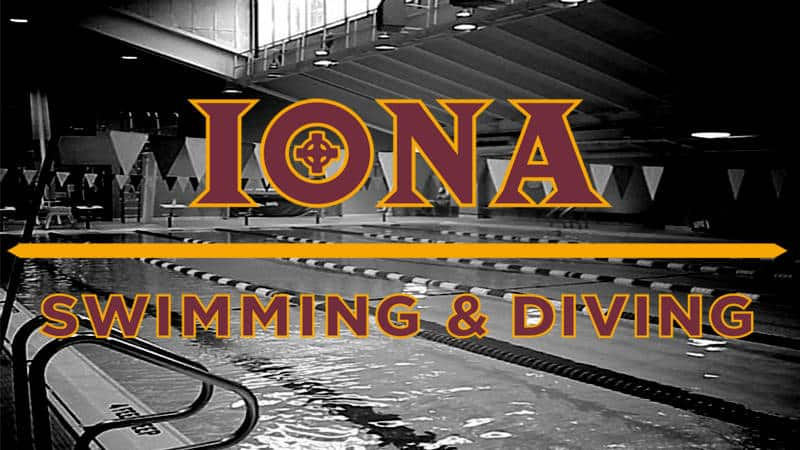 Iona Swimming & Diving Dominates Meet vs. Monmouth