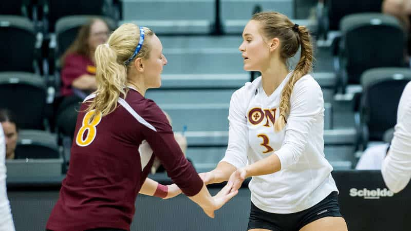 Iona VB Falls In Five At St. Francis Brooklyn