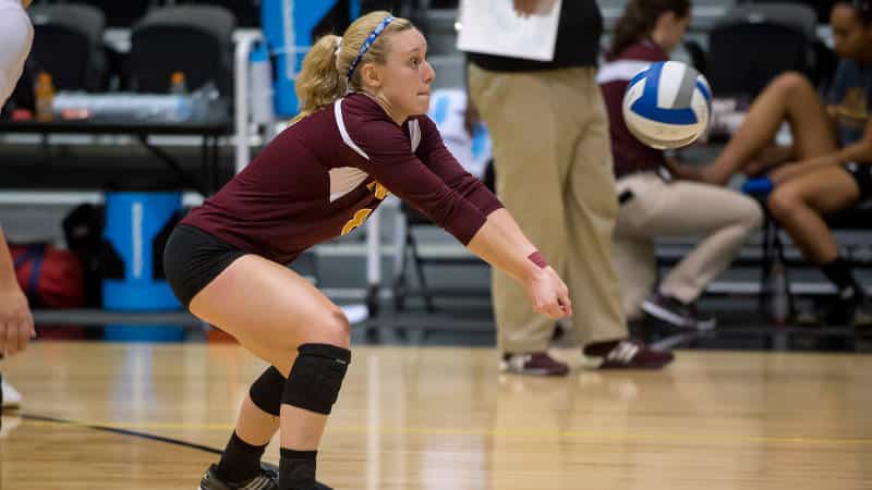 Iona Volleyball Falls To Manhattan In Three Sets