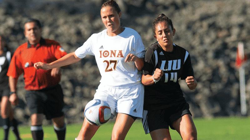 Iona Women's Soccer Comeback Falls Short At Niagara