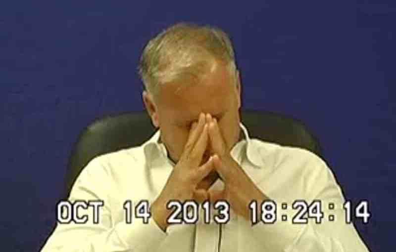 "Vincent ""Jimmy"" Bonanno during a 2013 deposition"