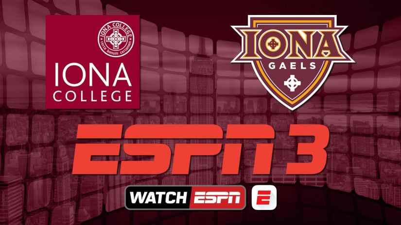 Iona Athletics, ESPN Enter Partnership To Broadcast Athletic Events