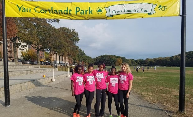 Monroe Women's Cross Country Wins Monroe College Tri-Meet Over Essex County.jpg