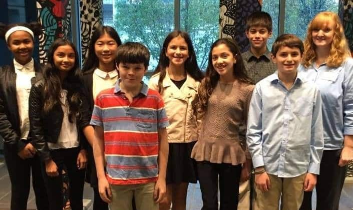16 Students Attended the Second Annual Human Rights Institute for Middle School Student Leaders.jpg
