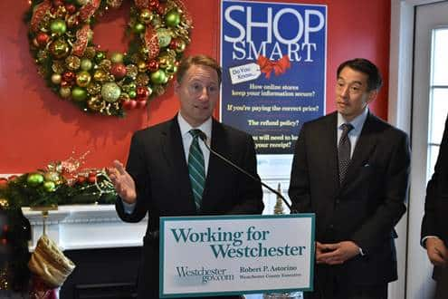 "Astorino Reminds County Residents to ""Shop Smart"" this Holiday Season"