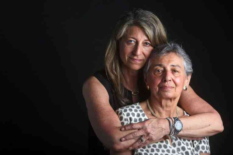 Holocaust portraits -Helga Luden of New Rochelle with her daughter, Anita Greenwald, of Armonk.jpg