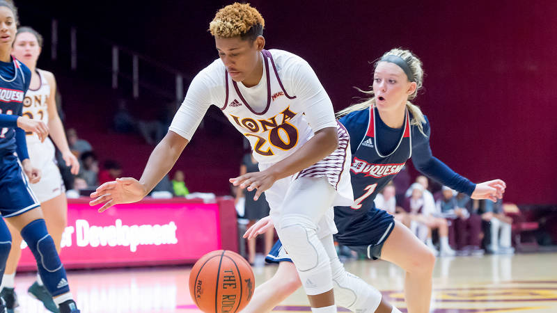 Lewis Scores Career-High In Loss At Monmouth.jpg