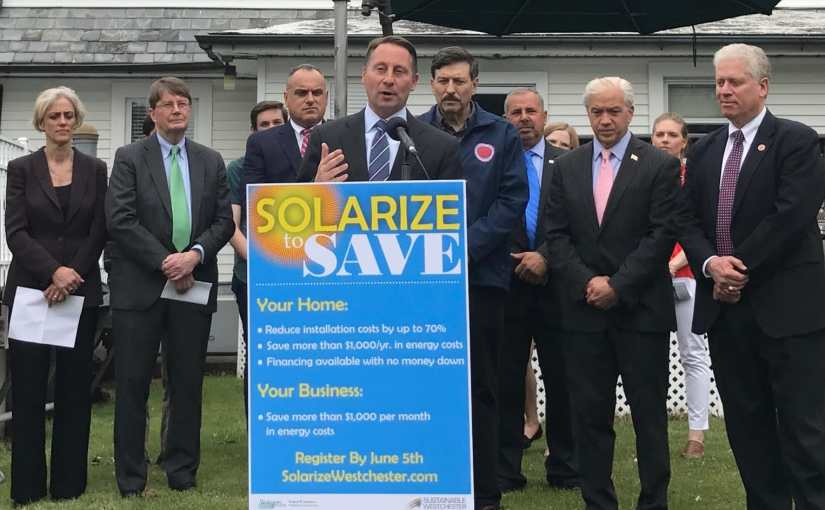 County Joins Sustainable Westchester Consortium