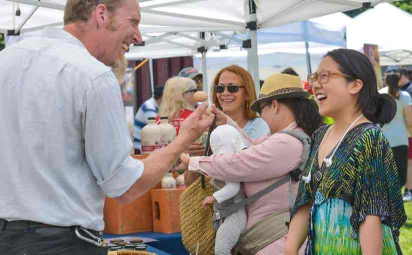 The New Rochelle Grand Market Downtown kicks off its season this Saturday, June 3.
