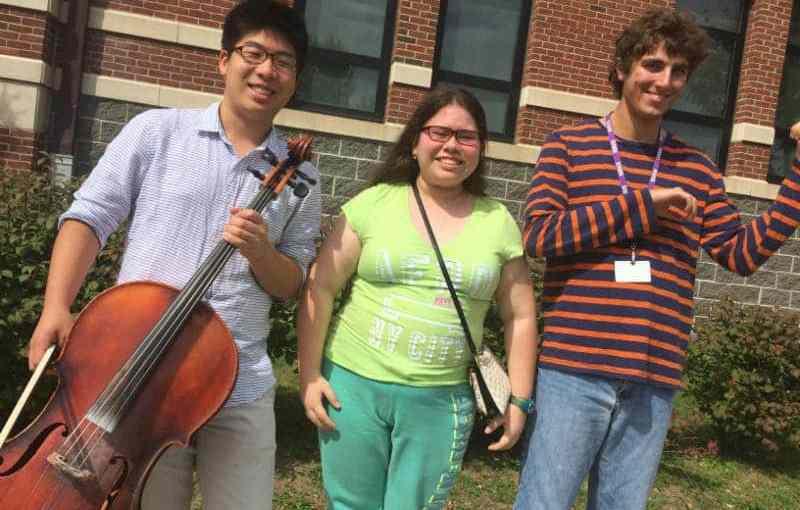 From left, Taz Kim, Annael Alvarez and David Rubertone