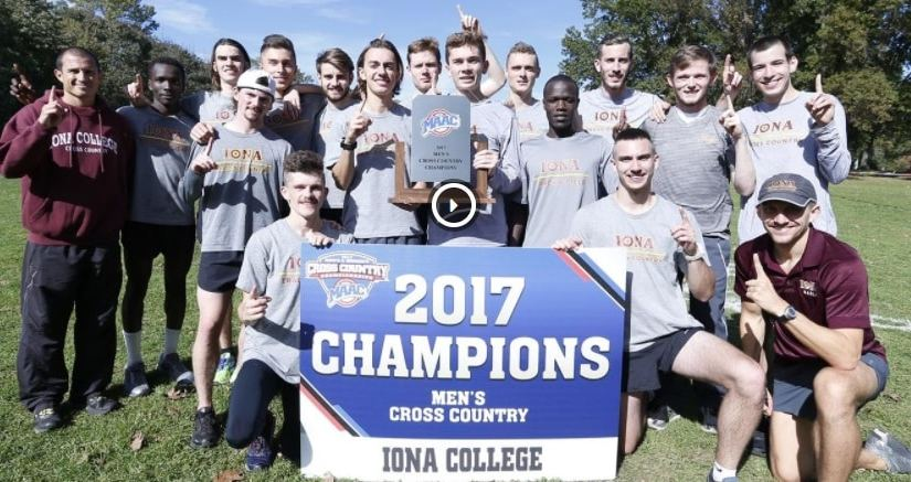 27 STRAIGHT! Men's Cross Country Continues MAAC Championship Streak