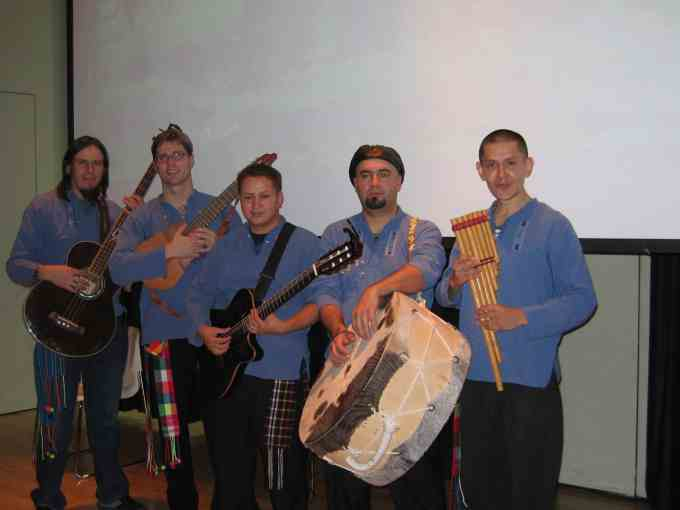 Library to Present Concert Featuring Music from the Andes