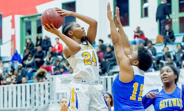 Trio of Double-Doubles Lift Monroe Women's Basketball over Host Montgomery