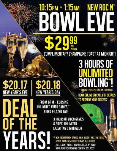 Fun Fuzion New Roc presents Bowl Eve