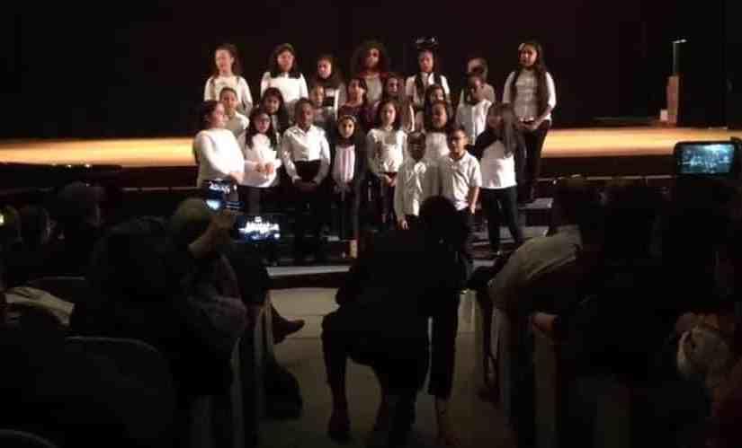 The Jefferson Elementary School Special Chorus