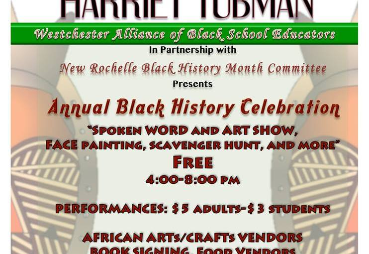 Black History Month celebration at New Rochelle High School