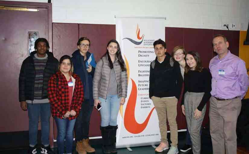 Seven New Rochelle High School Sophomores Attended the Annual Human Rights Institute for Student Leaders Held at Iona College on March 15