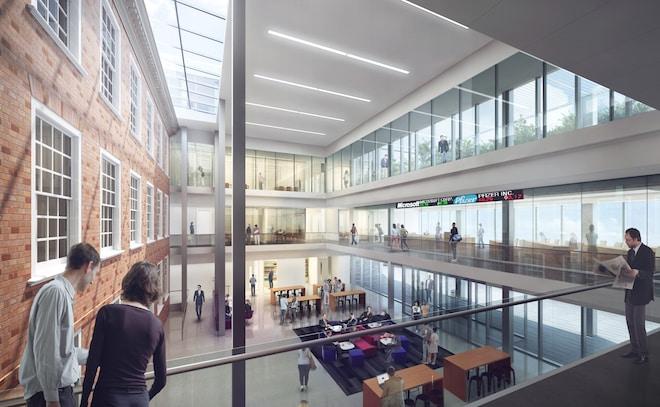 Proposed Hagan Atrium