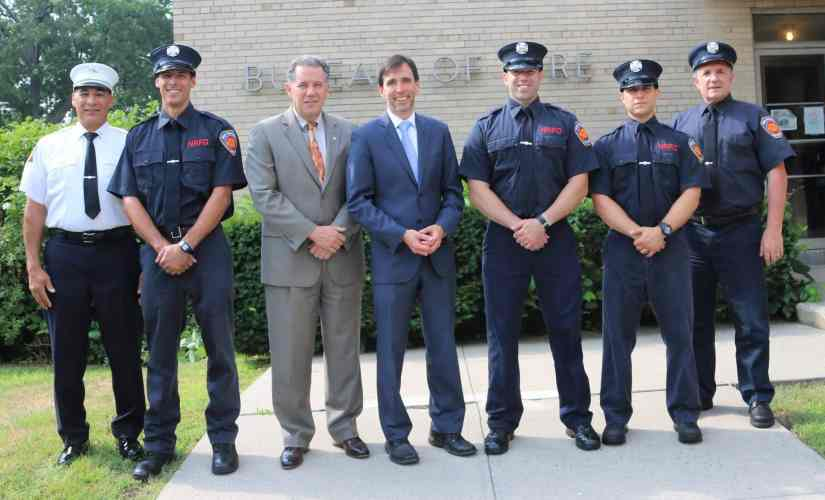 City Officials Welcomed the Newest Members of the New Rochelle Fire Department